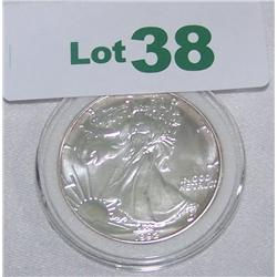 1992 Walking Liberty 1Oz. Fine Silver Dollar