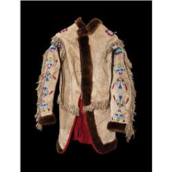 Crow Horse Doctor's Coat