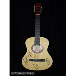The Partridge Family  Autographed Guitar