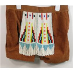 The Village People's American Indian Felipe Rose Beaded Shorts