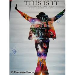 "Michael Jackson's ""This  Is It"" Poster"