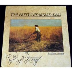 Tom Petty & the Heartbreakers Autographed LP