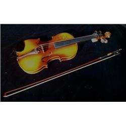 Charlie Daniels Stage Played Autographed Violin