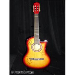 Wings Autographed Guitar