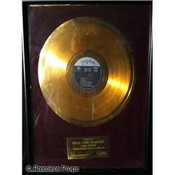 Paul & Linda McCartney Foreign Gold Record