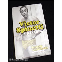 Victor Spinetti Autographed Book