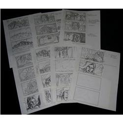 Starship Troopers (1997) Storyboards
