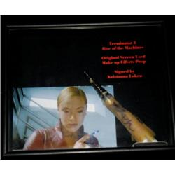 Terminator 3: Rise of the Machines (2003) Kristanna Loken Effects Finger