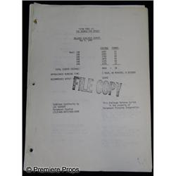 Star Trek III: The Search for Spock (1984) Screenplay