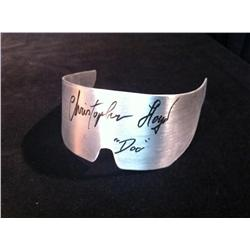 Back to the Future (1985) Autographed Visor