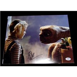 E.T.: The Extra-Terrestrial Drew Barrymore Autographed Photo