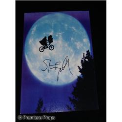 E.T.: The Extra-Terrestrial Steven Spielberg Autographed Photo