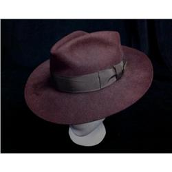 Raider of the Lost Ark Harrison Ford Autographed Fedora