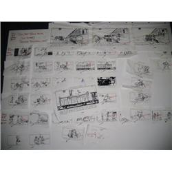 Indiana Jones and the Last Crusade (1989) Production Boards