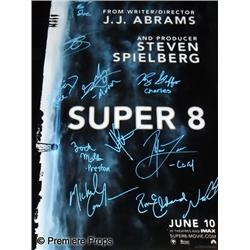 Super 8 (2011) Autographed One Sheet Poster
