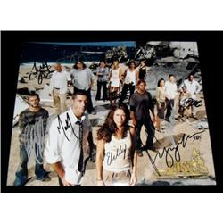 Lost (2004-2010) Autographed Cast Photo