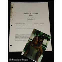 Mighty Morphin' Power Rangers (1993-1996) Teleplay and Prop Photo