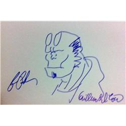 Hellboy (2004) Autographed Artwork