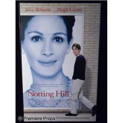 Notting Hill (1999) Hugh Grant and Julia Roberts  Autographed One Sheet