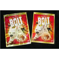 John Travolta Autographed DVD for Bolt