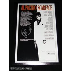 Al Pacino Autographed Scarface Mini-Poster