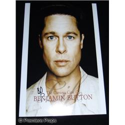 Brad Pitt Curious Case of Benjamin Button Autographed Photo