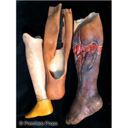 Men of Honor (2000) Cuba Gooding Jr. Prosthetic Leg in Three Stages