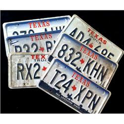 Walker, Texas Ranger (1993-2001) Prop License Plates