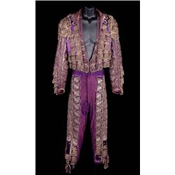 Rudolph Valentino signature matador outfit by Travis Banton for the 1922 Blood and Sand