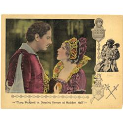 Dorothy Vernon of Haddon Hall pair of original lobby cards