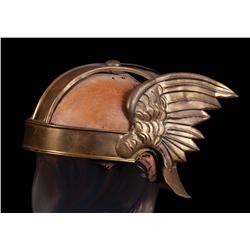 Francis X. Bushman historic winged charioteer helmet from the 1925 Ben-Hur: A Tale of the Christ