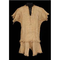 Douglas Fairbanks Sr. collection of raw burlap shipwreck clothes from Mr. Robinson Crusoe