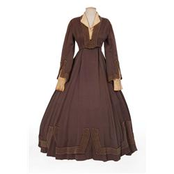"Katharine Hepburn ""Jo"" brown period dress designed by Walter Plunkett from Little Women"