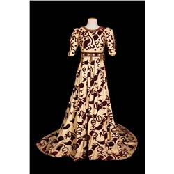 "Violet Kemble Cooper ""Lady Capulet"" Ivory period gown by Adrian from Romeo and Juliet"