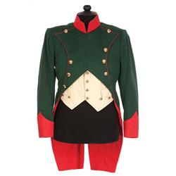 "Charles Boyer ""Emperor Napoleon Bonaparte"" green military coat and vest from Conquest"