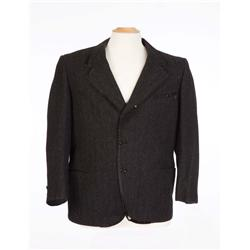 "Peter Lorre ""Kentaro Moto"" black jacket from Mr. Moto series"