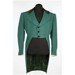 "Laurence Olivier ""Mr. Darcy"" green wool period tailcoat from Pride and Prejudice"