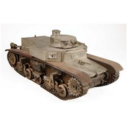 Large-scale miniature tank from Comrade X