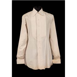 "Paul Henreid ""Jerry Durrance"" ivory cotton shirt from Now, Voyager"