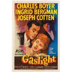 Gaslight original 1944 U.S. one-sheet poster