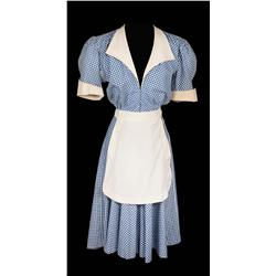 Joan Crawford Mildred waitress uniform from Mildred Pierce