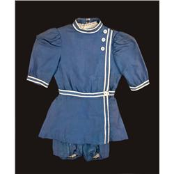 "Natalie Wood  ""Child Anna Muir"" Blue period bathing suit from The Ghost and Mrs. Muir"