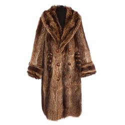 "Peter Lawford ""Jonathan Harrow III"" Raccoon coat from Easter Parade"
