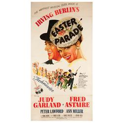 Easter Parade original 1948 U.S. three-sheet poster