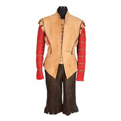 "John Sutton ""Duke of Buckingham"" tan leather jacket and pantaloons from The Three Musketeers"
