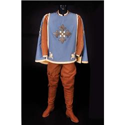 "Gene Kelly ""D'Artagnan"" cape, pantaloons, (2) shirts and boots from The Three Musketeers"
