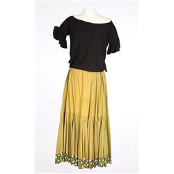 Rita Hayworth  signature skirt and wraparound bolero top from The Loves of Carmen