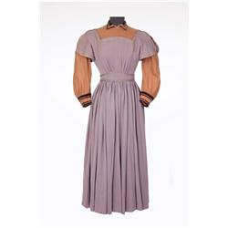 "Elizabeth Taylor ""Amy March"" period lavender dress by Walter Plunkett for Little Women"