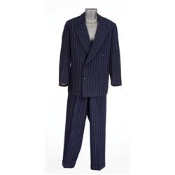 William Powell  Emery Slade  navy pinstriped suit from Dancing in the Dark