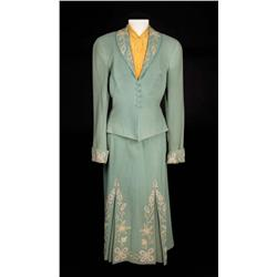 "Judy Garland ""Annie Oakley"" two-piece dress with blouse from Annie Get Your Gun"
